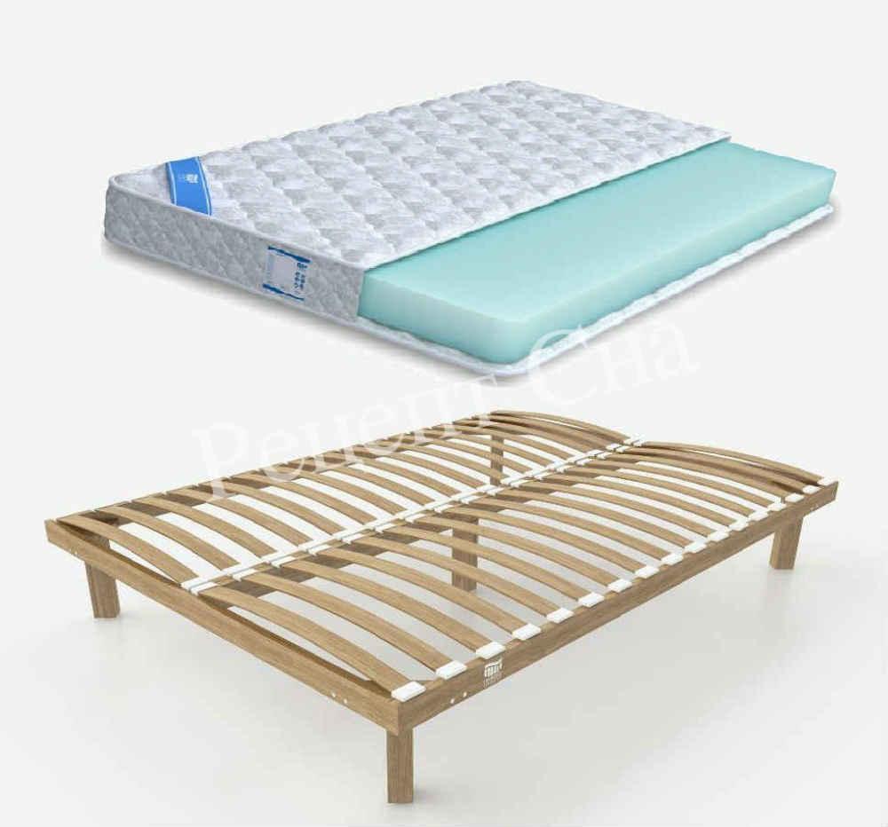 Односпальные кровати с матрасом в спб
